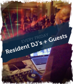 Friday Resident DJ's image