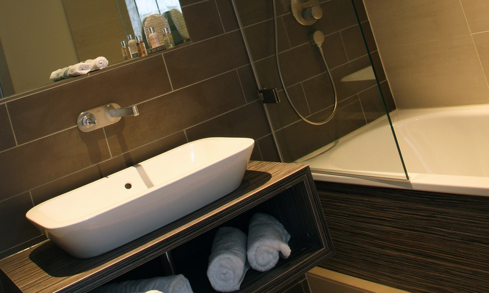 Hotel Bosco bathroom image